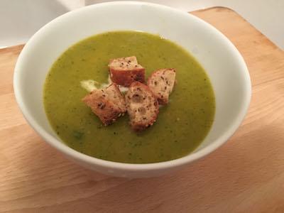 home made veggie soup
