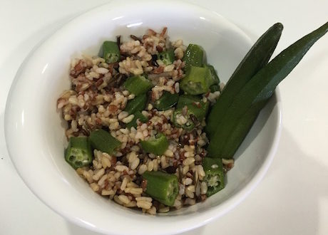 okra and wild rice