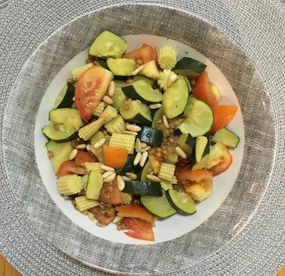 detox veggie salad