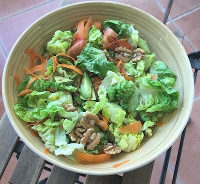 leftovers summer salad