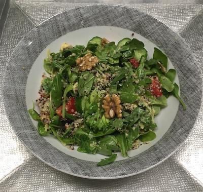 quinoa and rocca salad