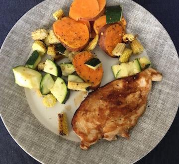 holistic lunch