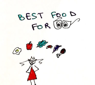 best food for eye sight