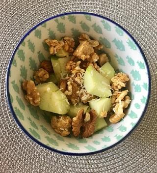 high protein fruity breakfast