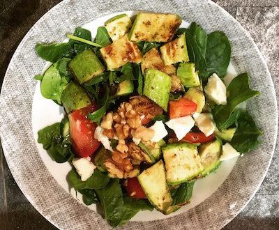 organic mediterranean salad