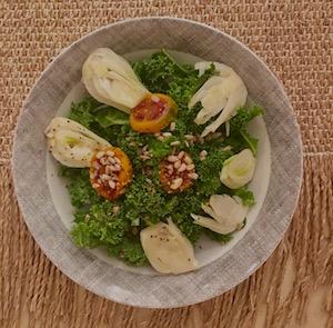 organic fennel salad